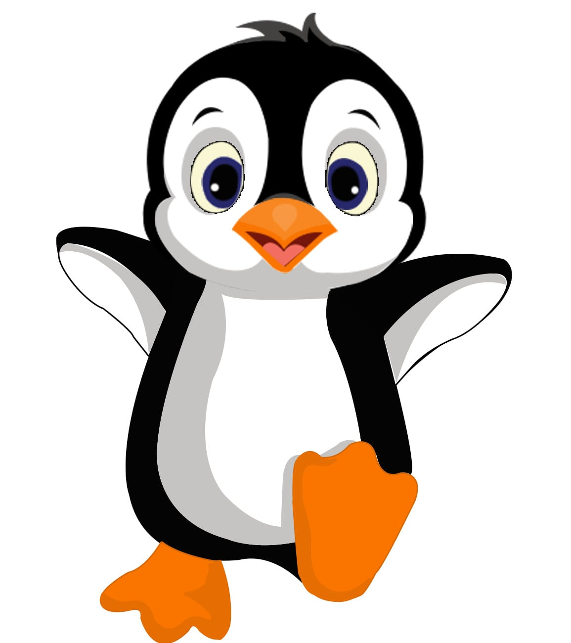 Draw Cute Cartoon Penguin For You By Aj 555