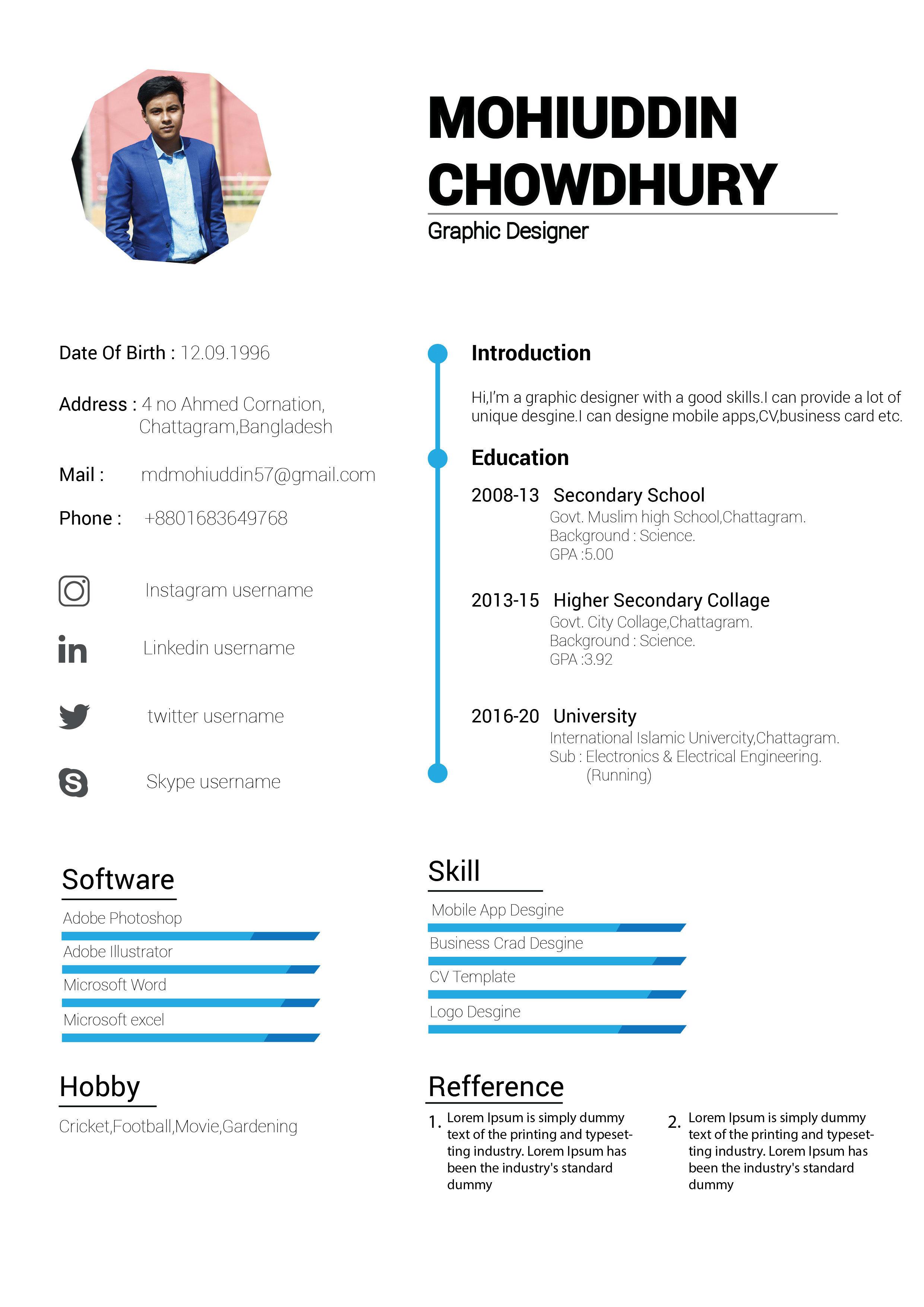 cv for bangladesh  data job resume format and more cv