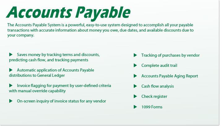 accounts payable definition