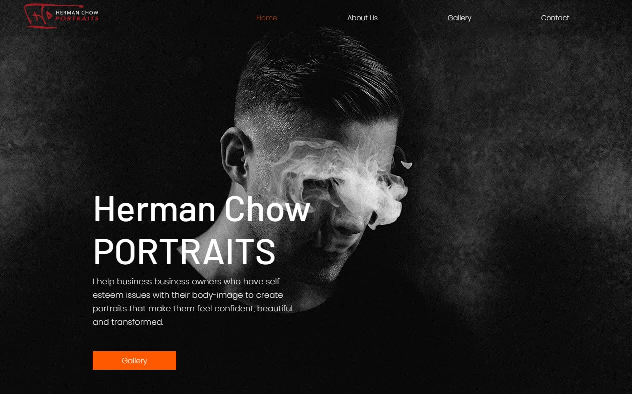 modify professionally wix website