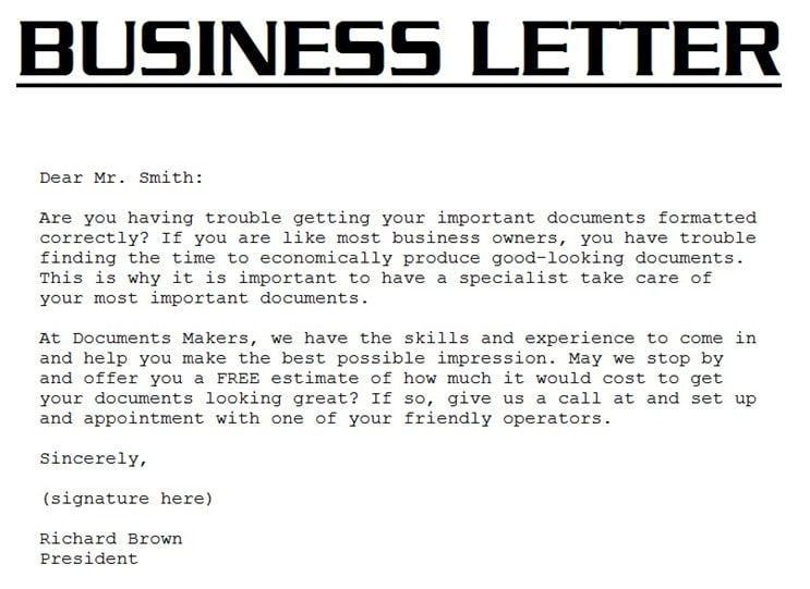 Write A Business Letter from fiverr-res.cloudinary.com