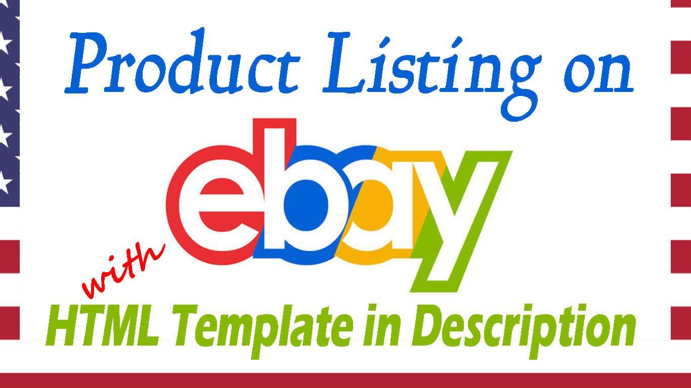 Product Listing On Ebay With Html Template Description By Navitpro