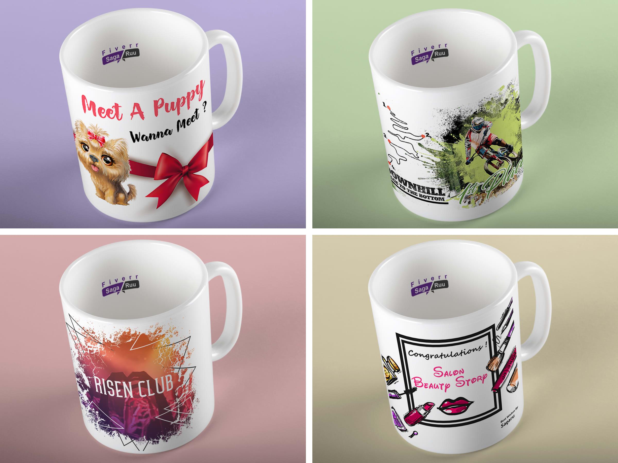 Design Unique Mug Designs By Sagaruu