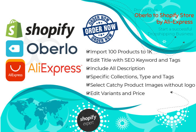 Import express dropshipping