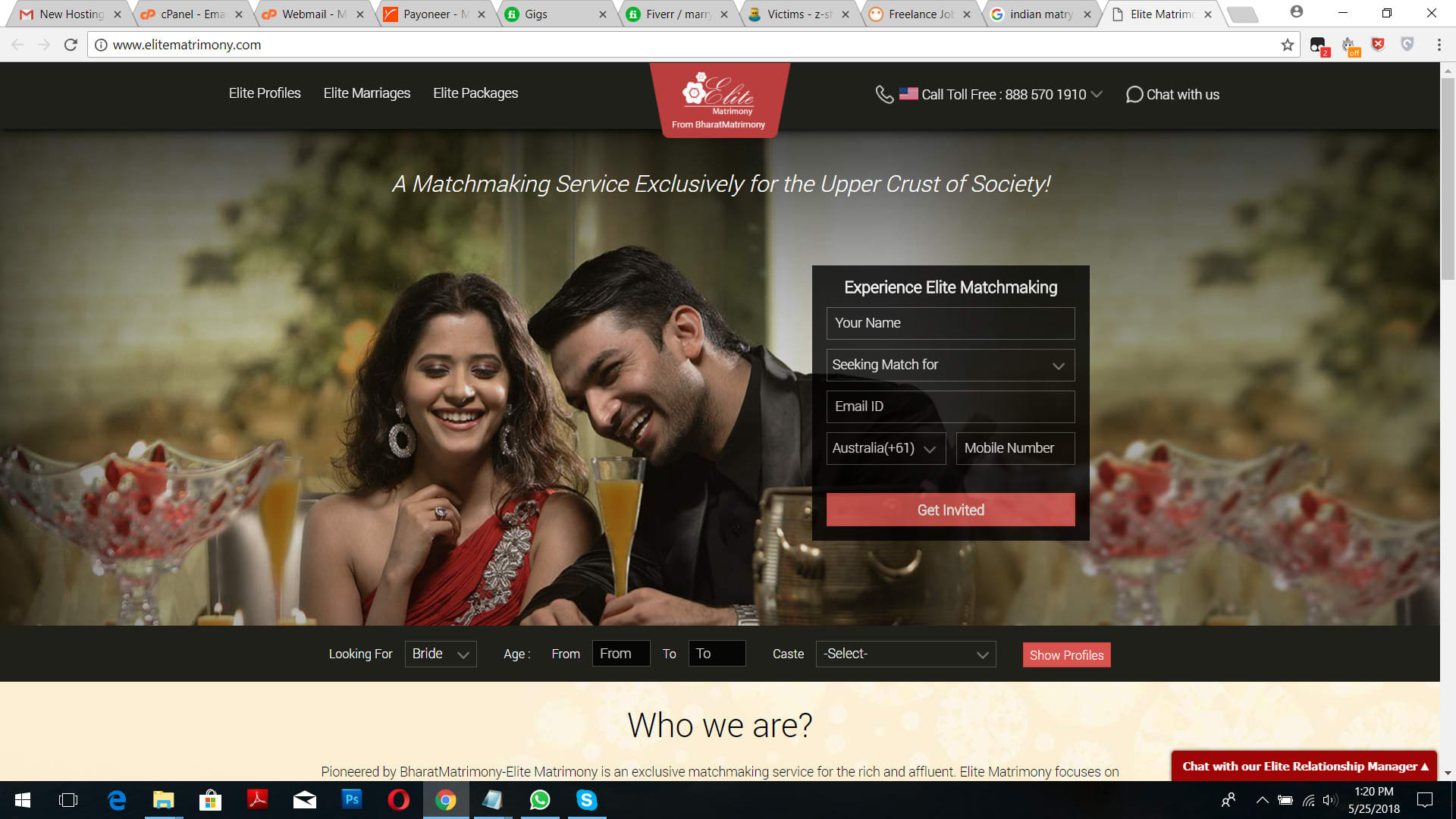 Dating Manager site. Site- ul dating Sosie.