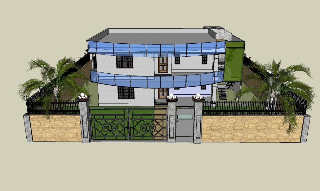 Attractive I Will Design Or Create Your Dream Home In 3d Model With Render