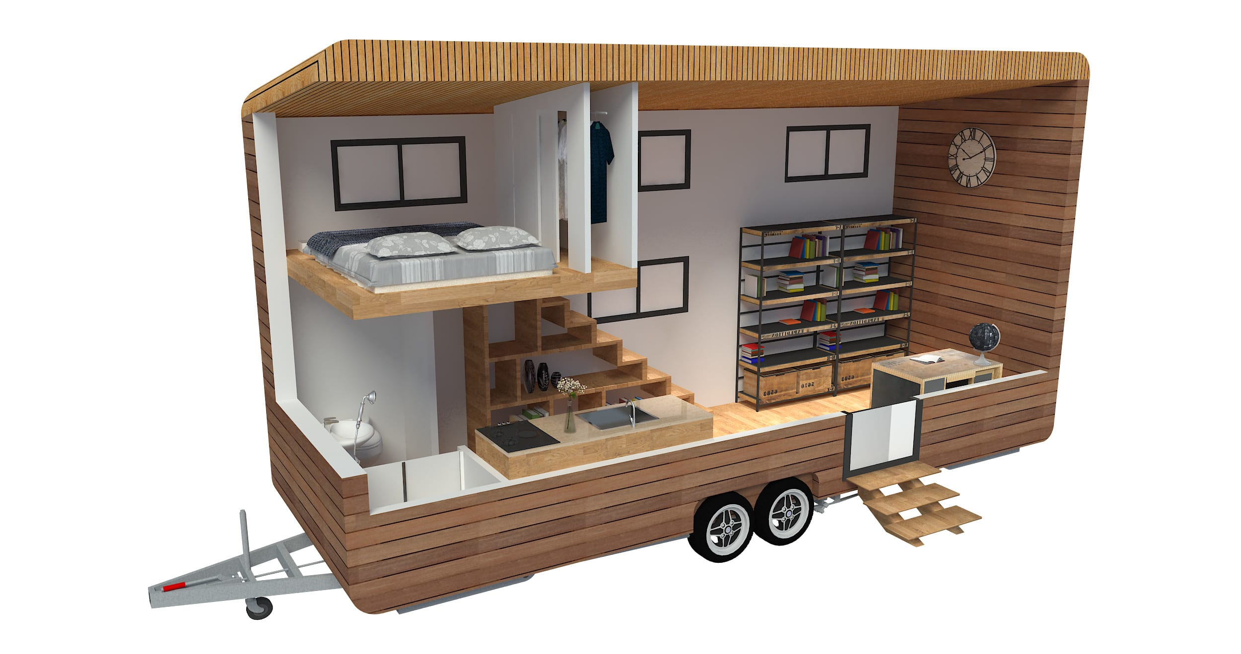 Convert 2d To 3d Floor Plans For Vans Motorhomes Campers By Long Vn Fiverr