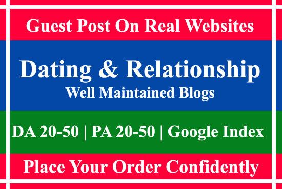 Blogs om dating websites