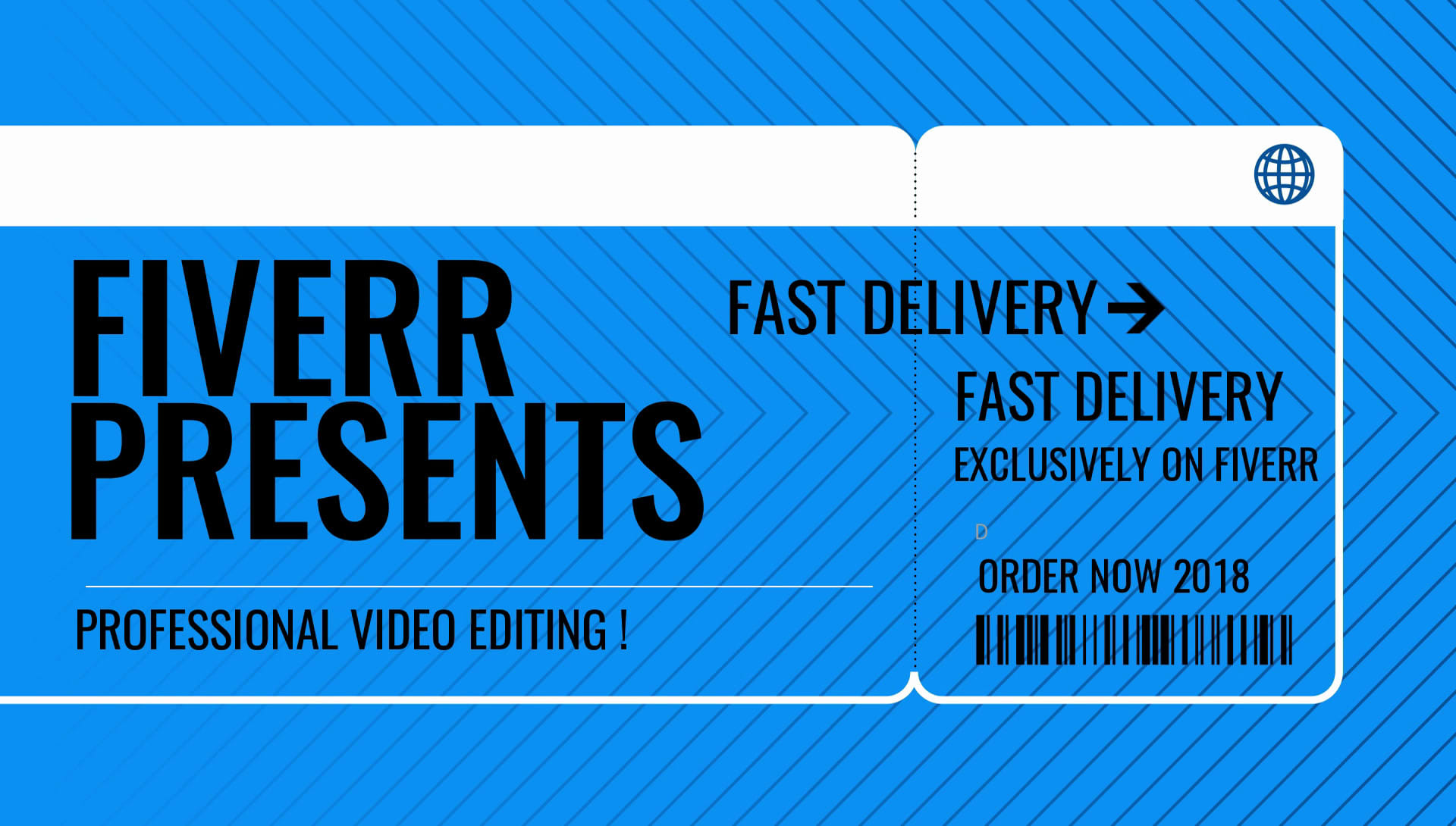 professional video editing with a quick delivery