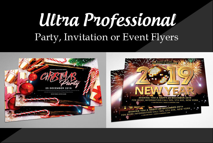make a flyer for a party