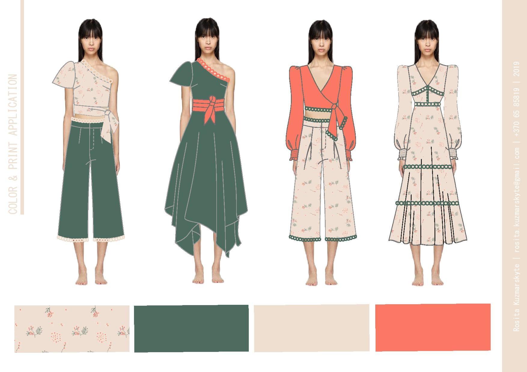 Design Fashion Or Workwear Collection Moodboard By Rositakuz
