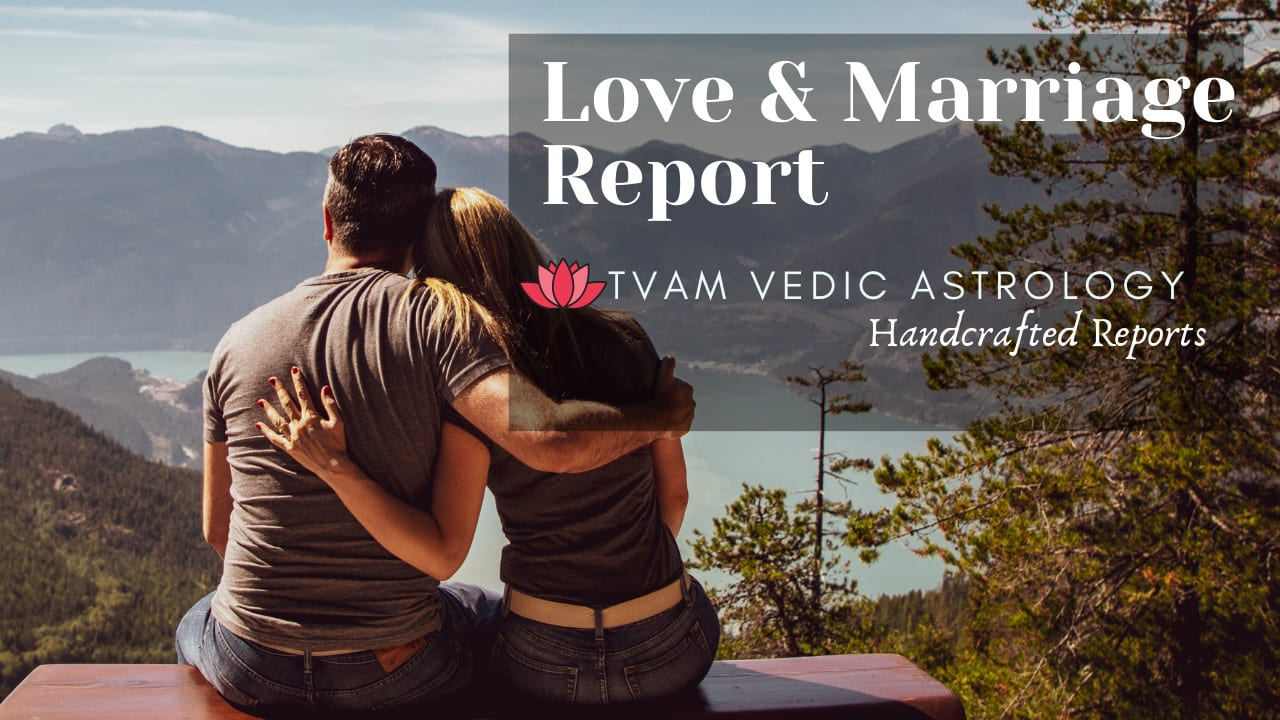 Marriage Synastry Vedic Astrology