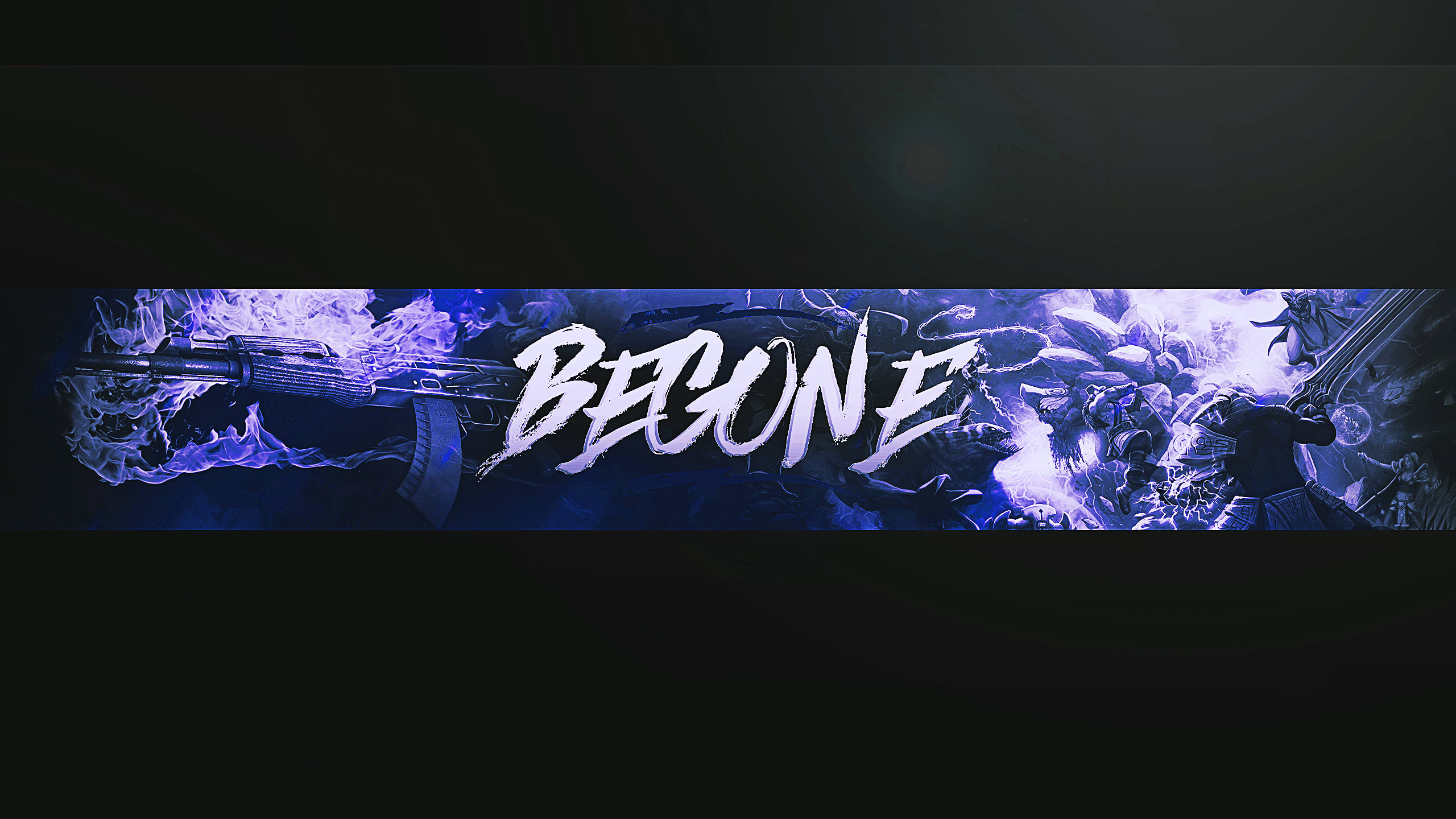 Make A Good Gaming Banner For Youtube By Bobizorz