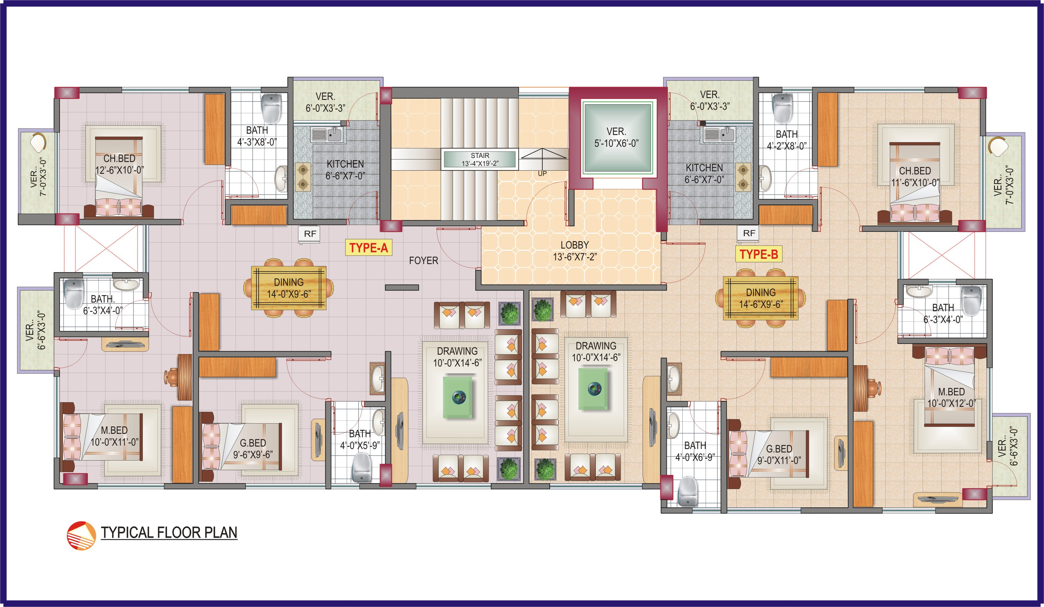 Draw A Floor Plan In Coreldraw By Noman9491 Fiverr