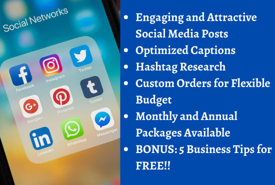 Design engaging social media posts for your business by Akanksha2409 | Fiverr