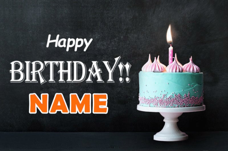 Birthday Cards Animated Happy Fearsome With Name Ecard Free Greeting Full