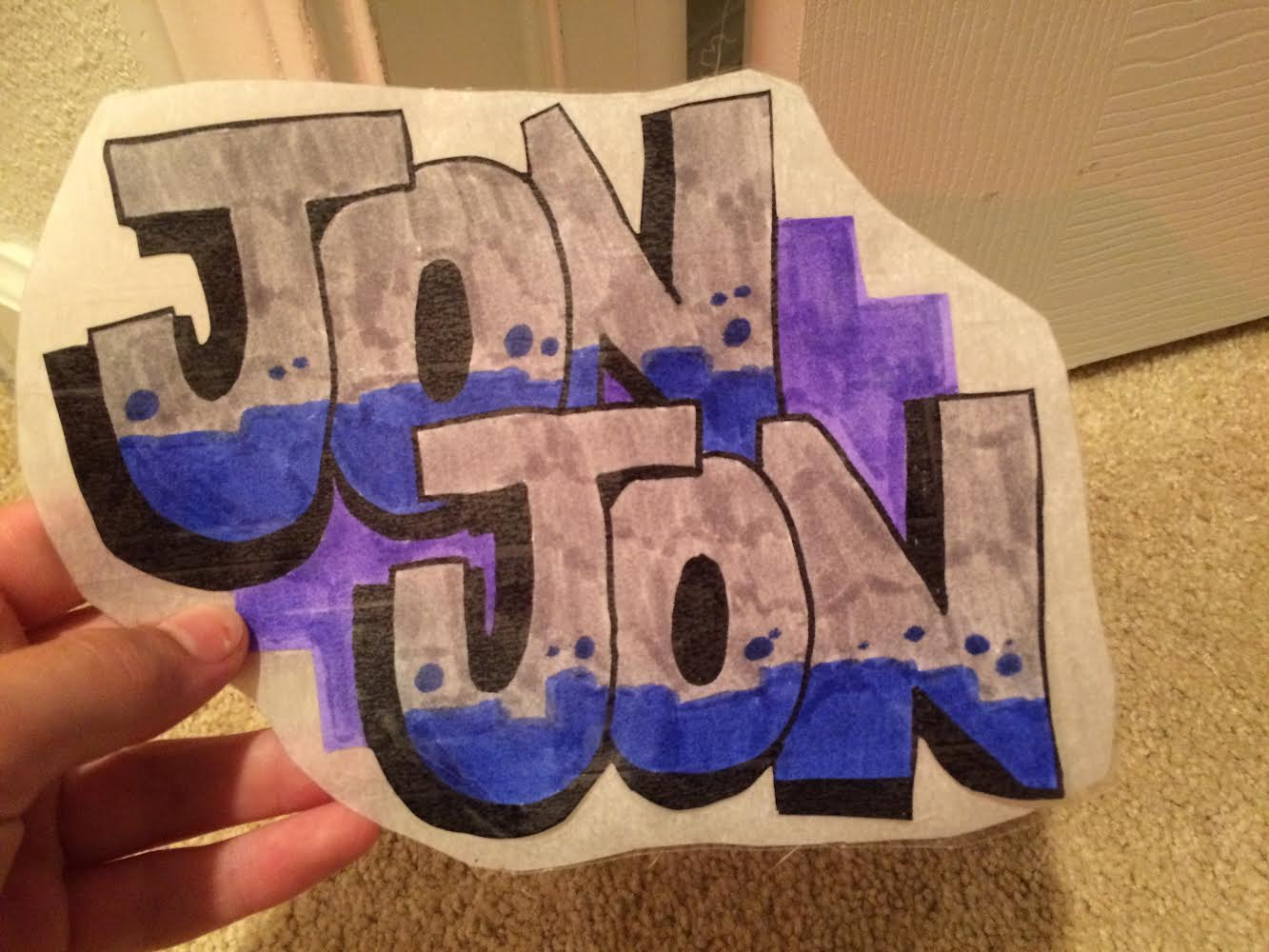 I will make your name or word into graffiti art