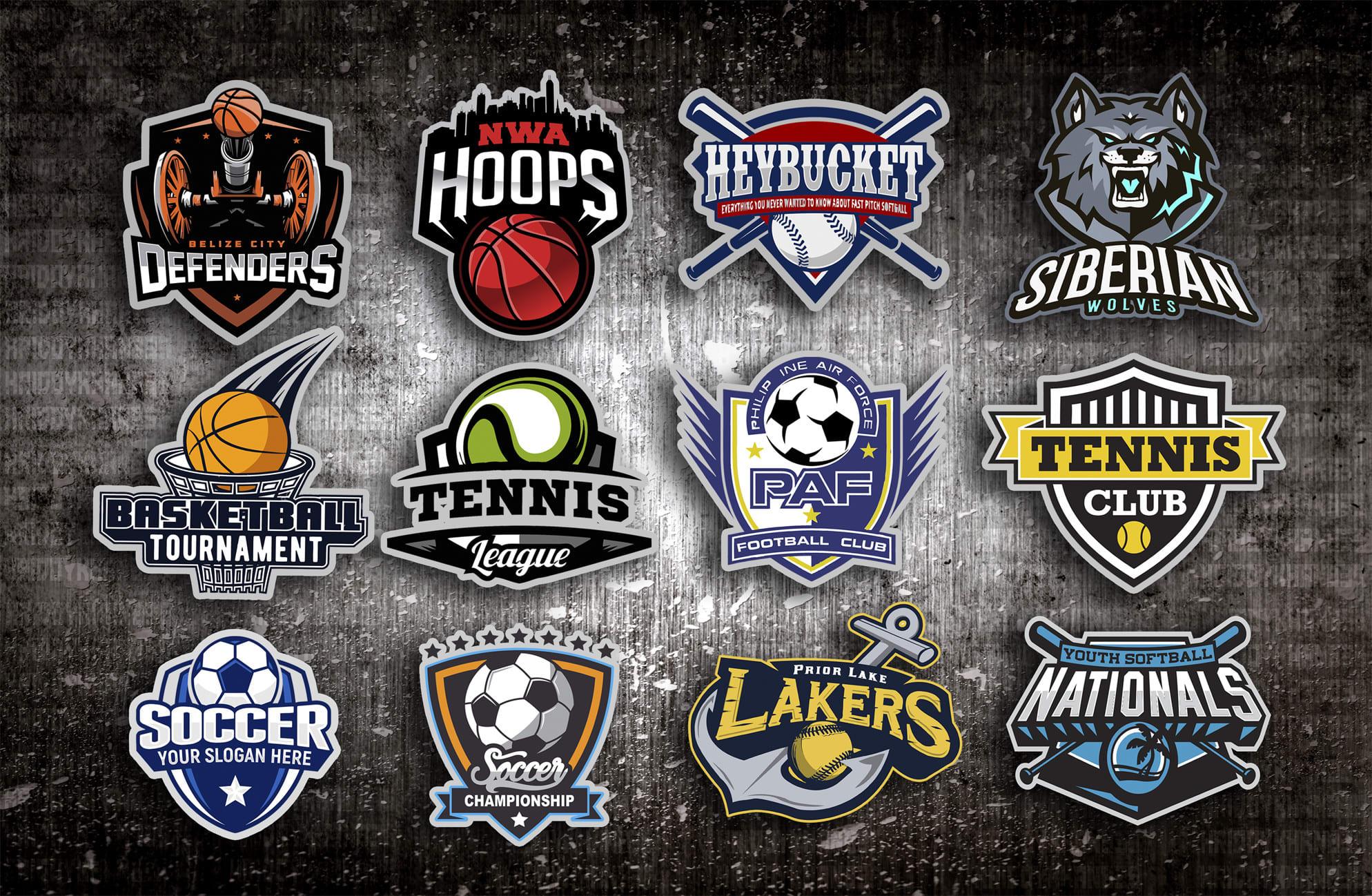 Make Football Basketball Soccer Softball Sports Tennis Logo By Hridoykhan835