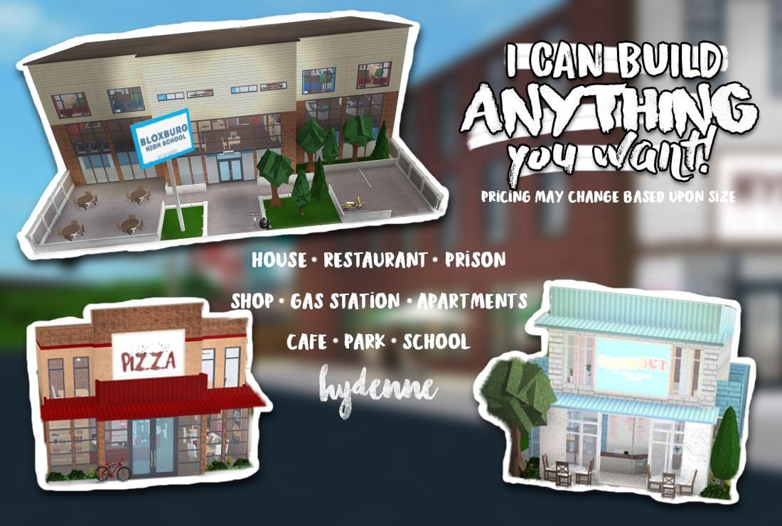 Build You A Shop Restaurant Etc In Bloxburg By Hydenne