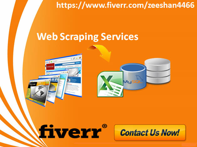 do web scraping, data mining and data extraction