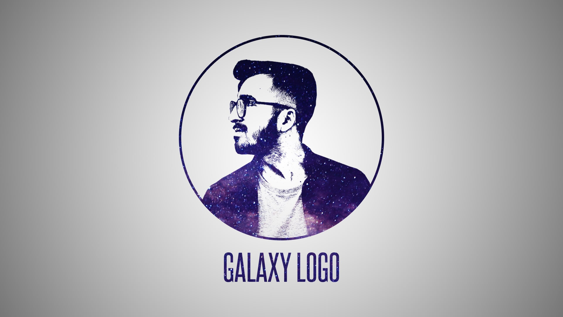 Draw Galaxy Logo Design From Face By Alkanmsa