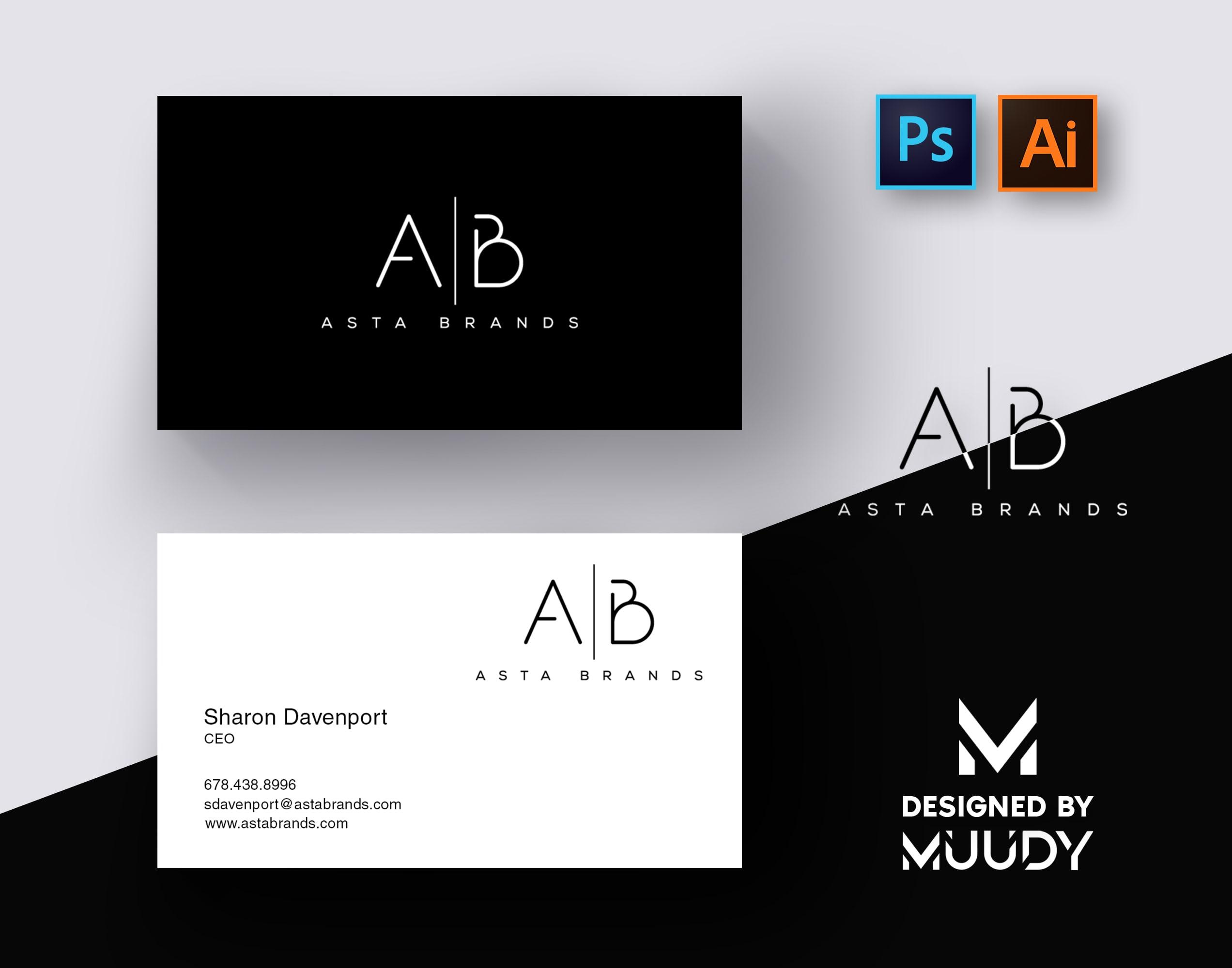Do Minimal Business Card Design By Urmuudy