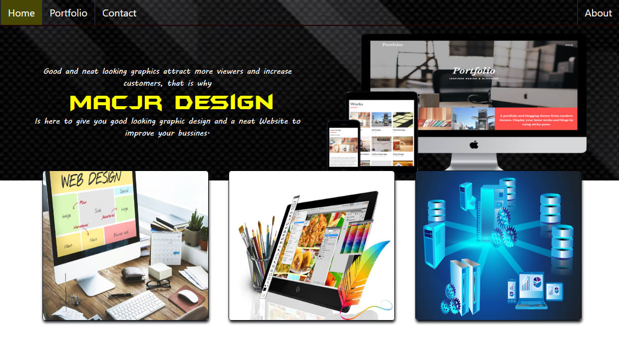 Design A Good Looking And A Responsive Website For You By Kyeremehjunior