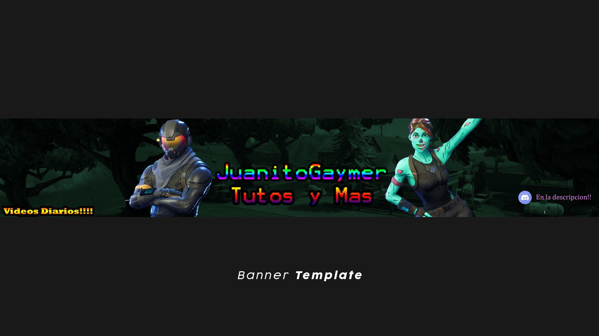 Make Your Fortnite Banner By Raittordesigns