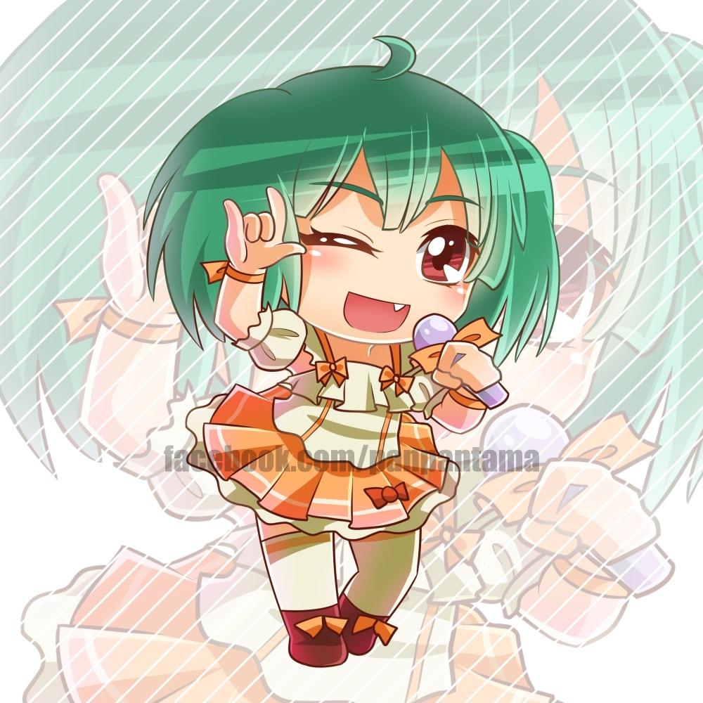 I will draw cute chibi anime oc character
