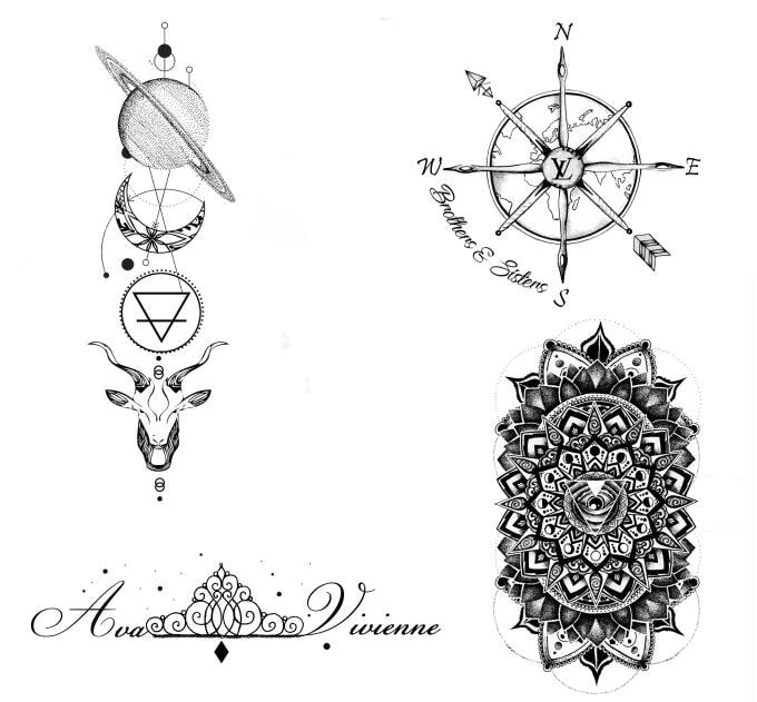 Design A Mandala Sacred Geometry Tattoor You By Tevn21