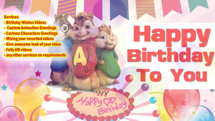 Create Amazing Birthday Wishes Videos For Your Kids And Family By Mrfazalshaikh