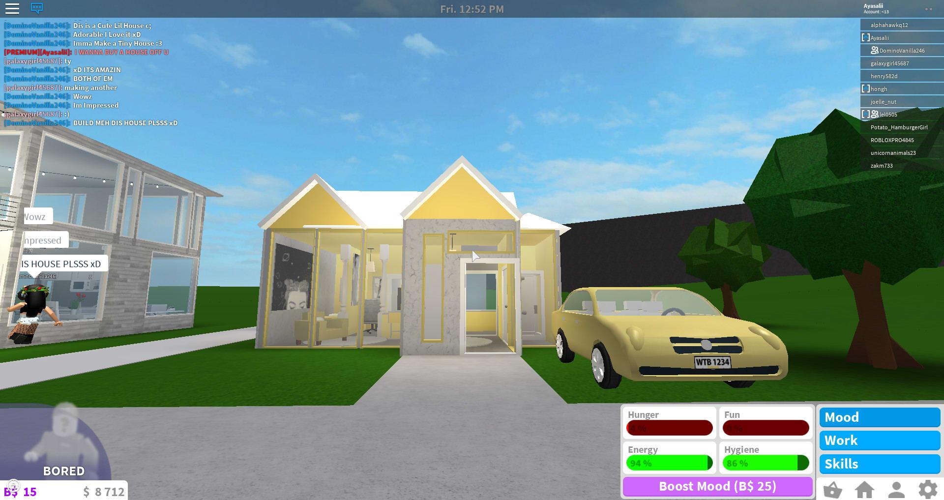 Build You A Custom Home On Roblox Bloxburg By Ayasali