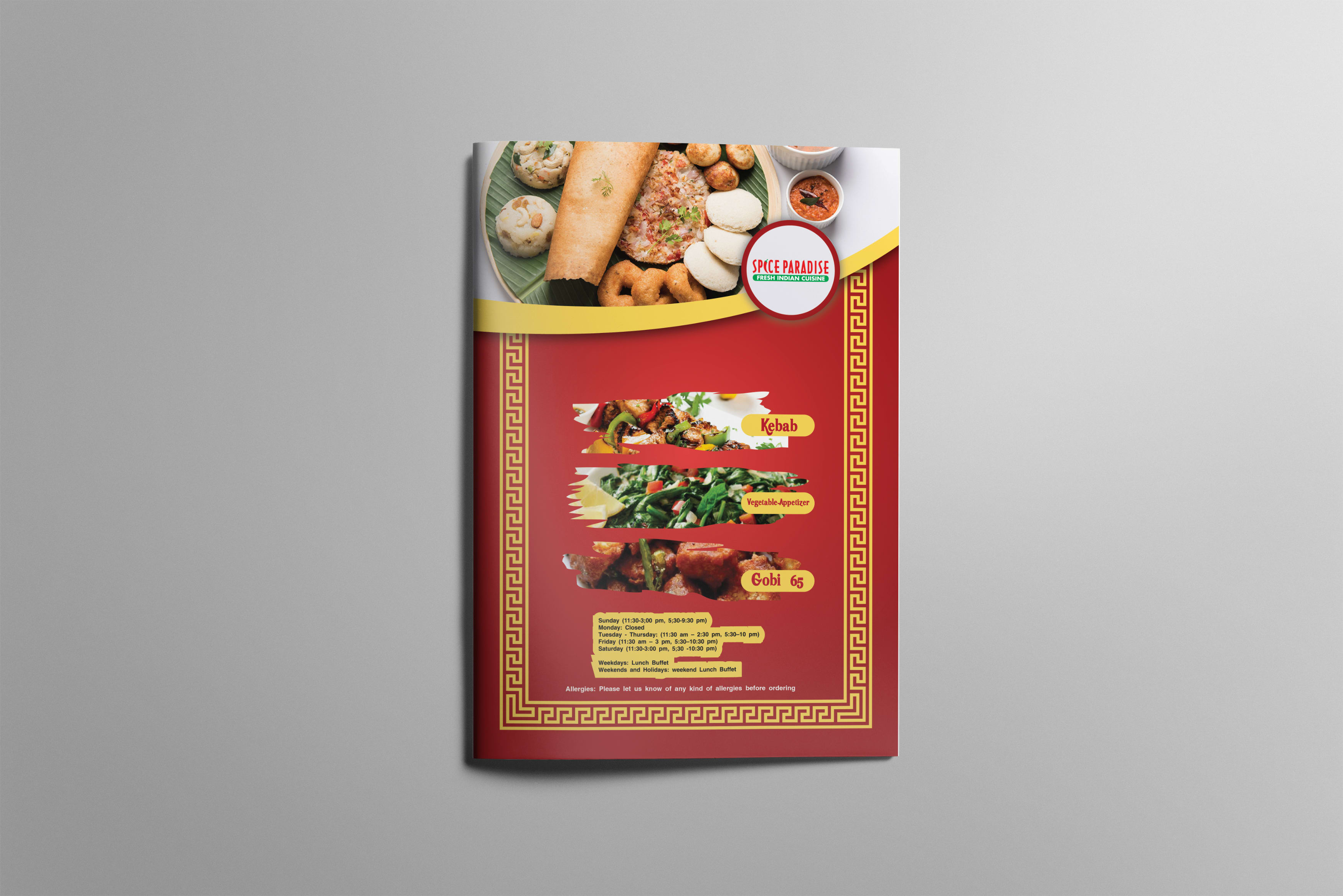 Design Elegant Restaurant Menu Cards By Mosabbirulislam