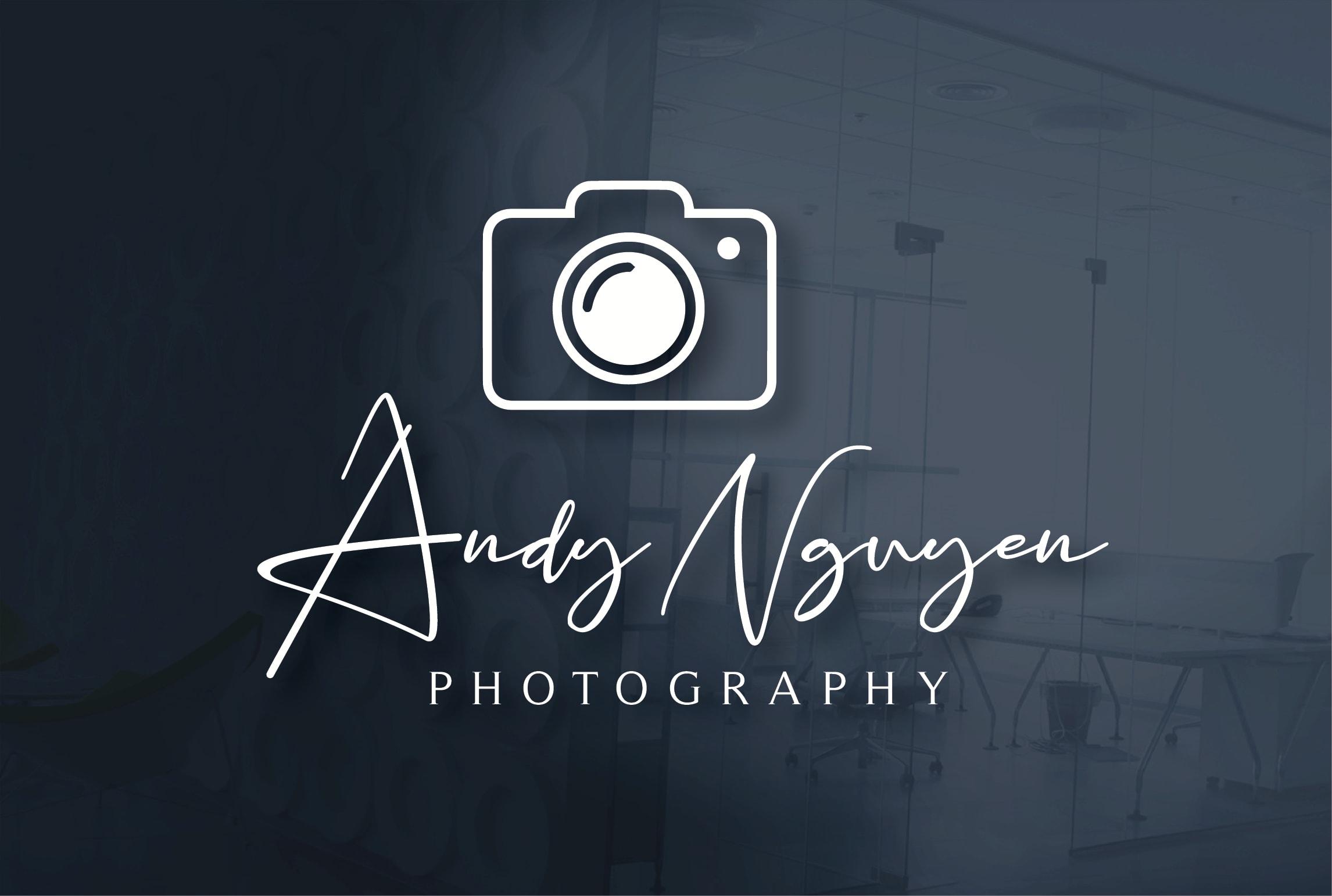 Design A Modern Watermark Photography Logo By Mi Graphix