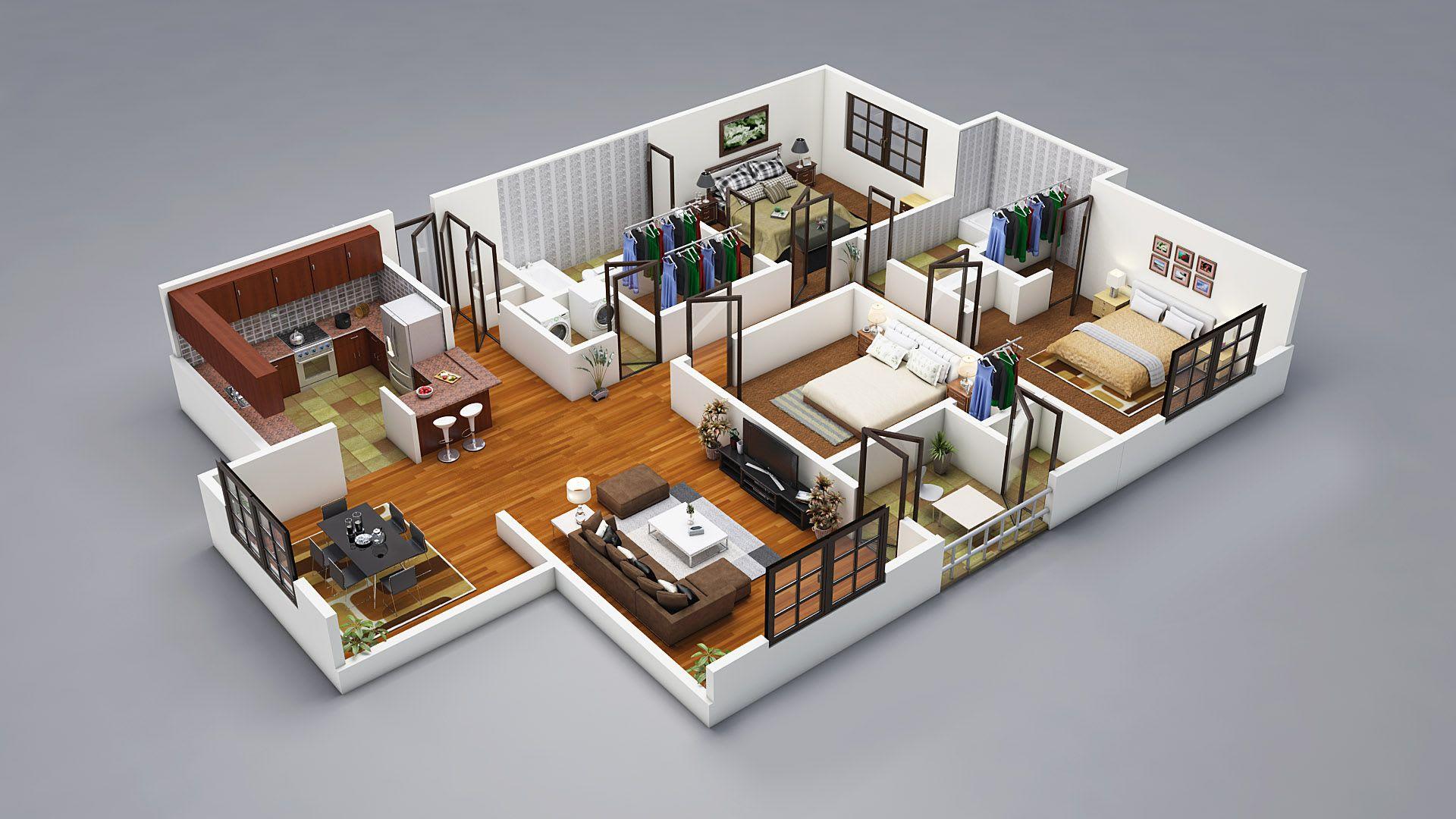 Do 3d Modeling Exterior Interior Floor Plan By Mandeepsinhvagh Fiverr