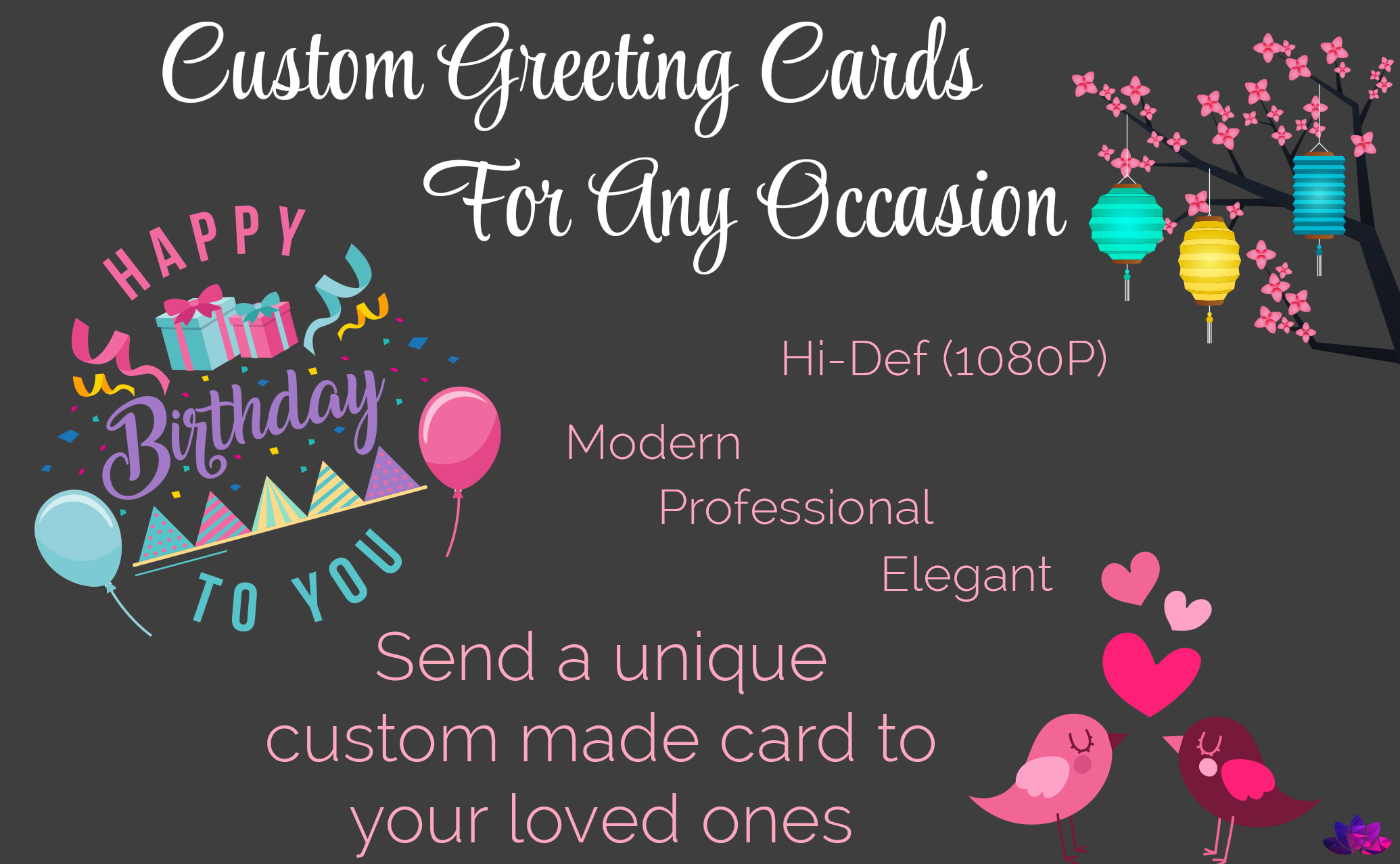 Create A Custom Animated Greeting Card By Lotusanimations