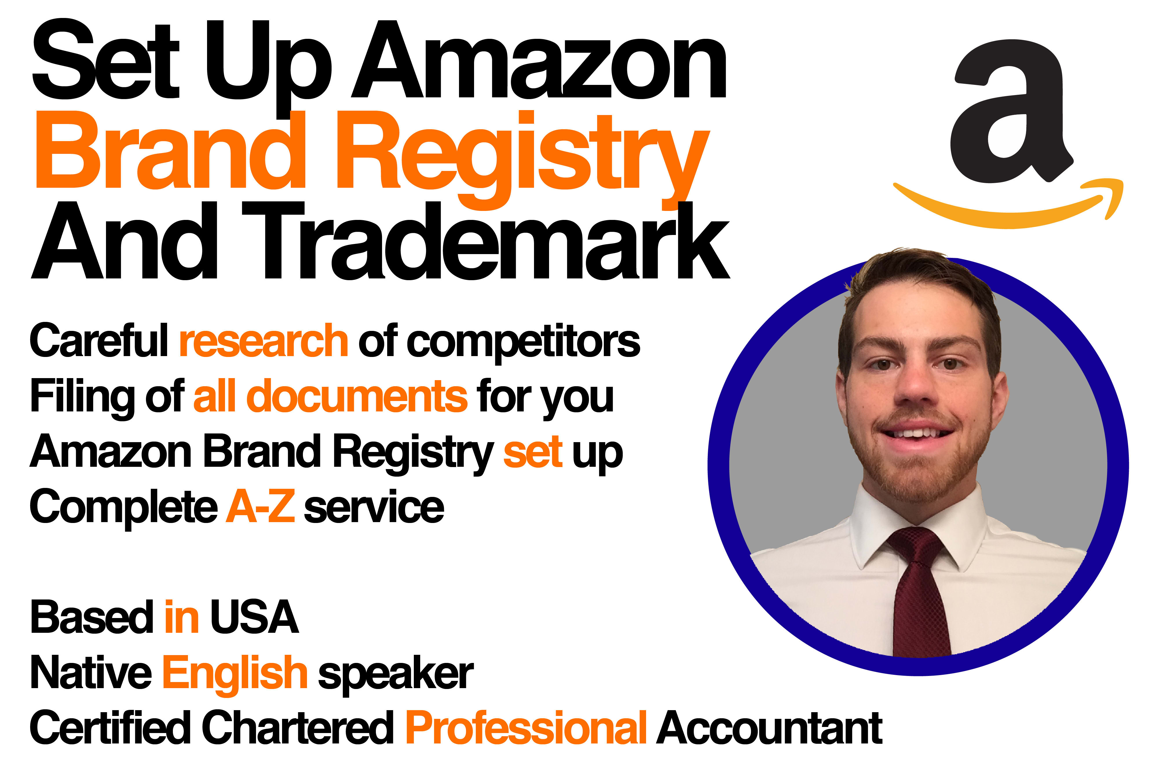 how long does amazon brand registry take