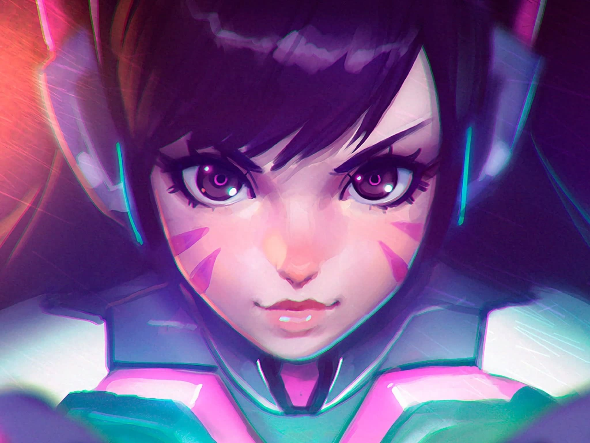 anime gamer girl characters
