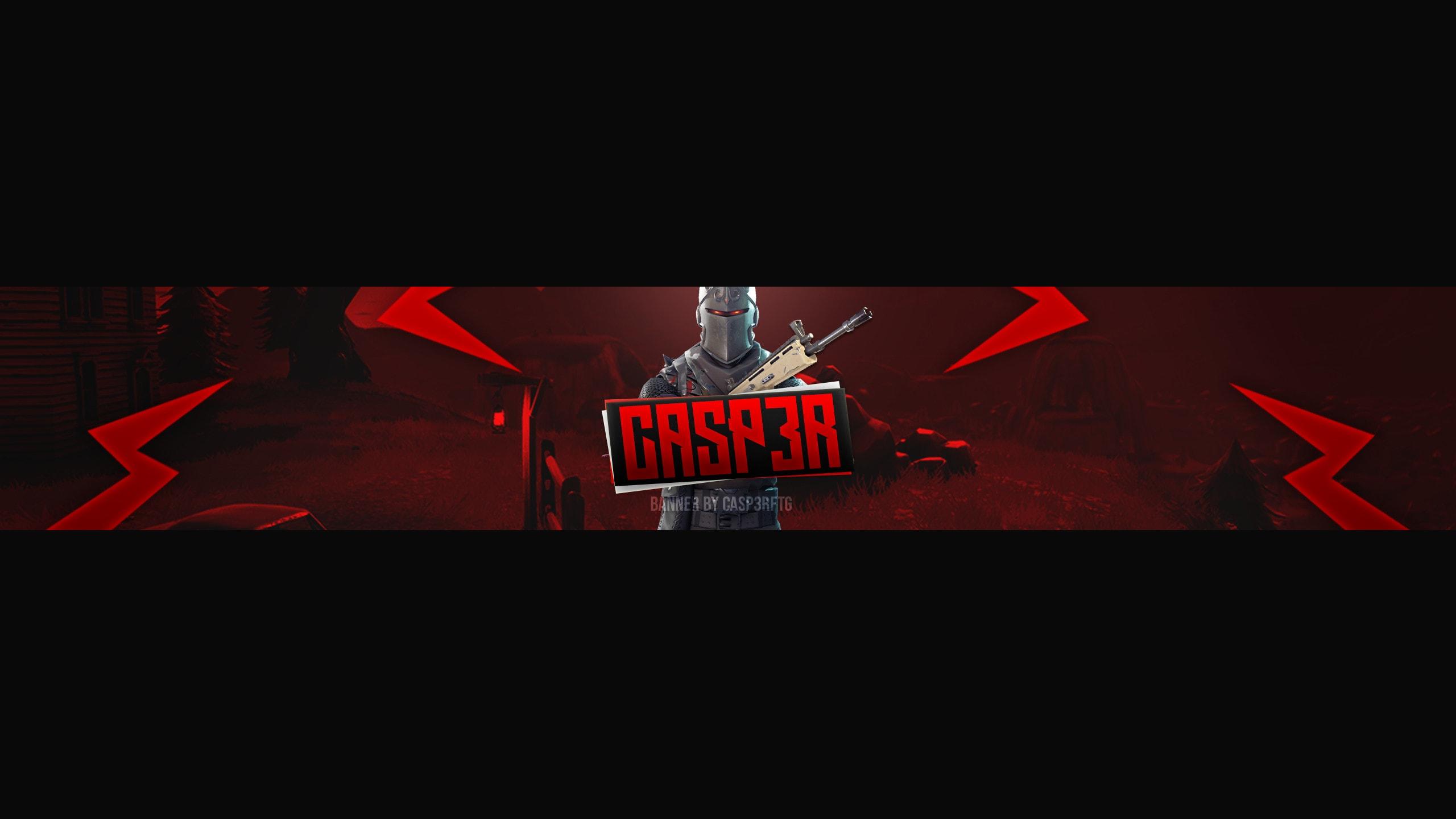 Fortnite Gaming Youtube Banner By Casp3rftg
