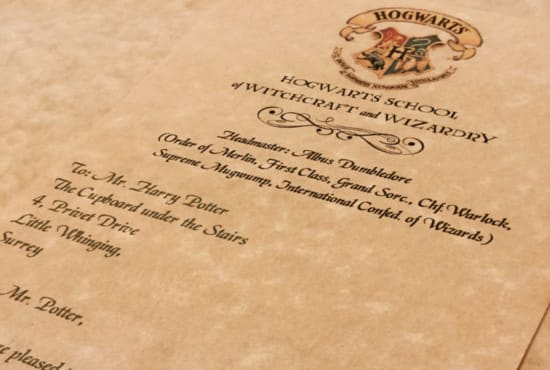 Create A Personalized Harry Potter Hogwarts Acceptance Letter By Merrymailbox