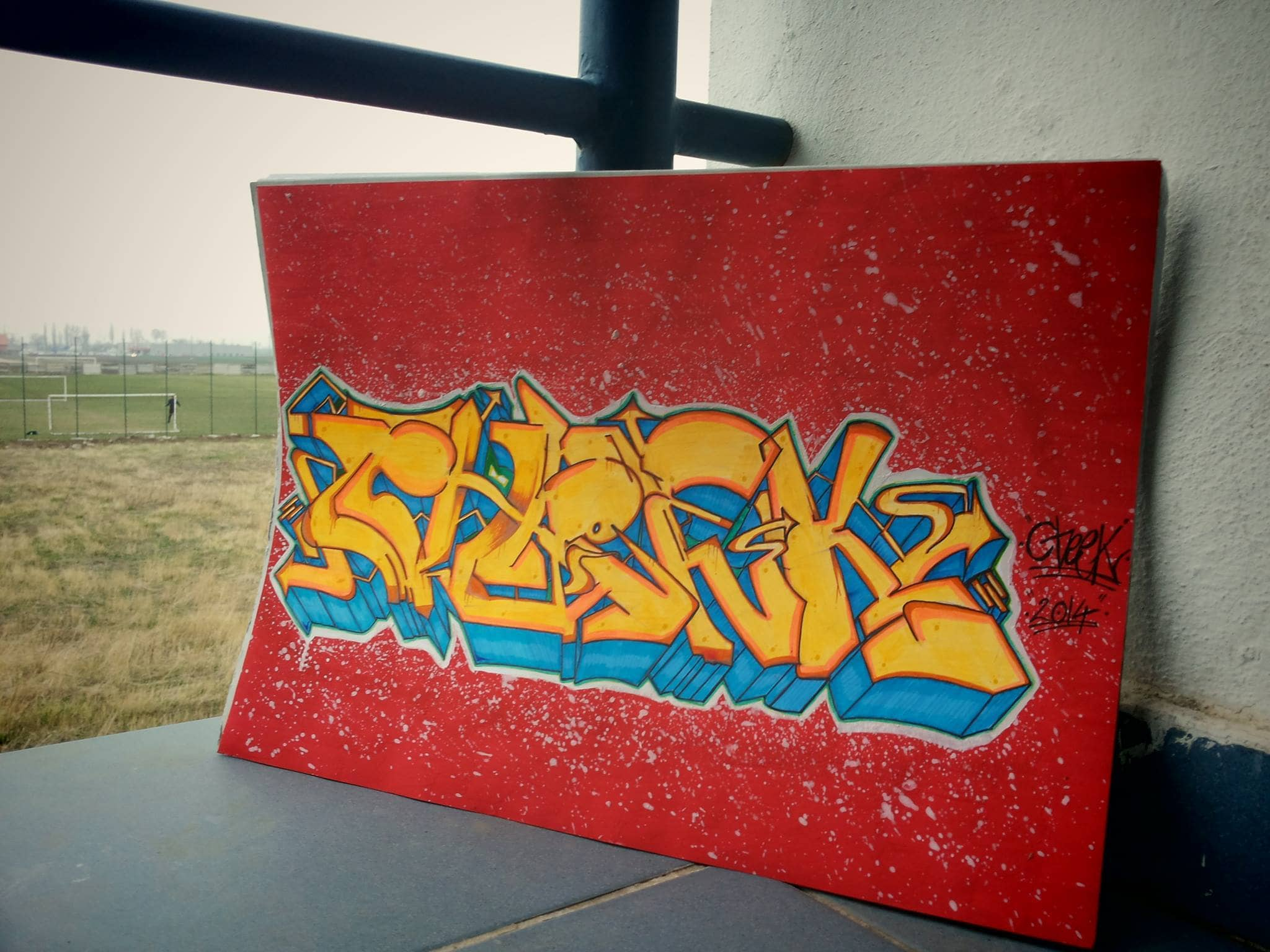 I will design your name in my graffiti style
