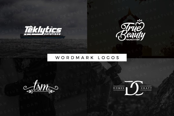 I Will Design A Wordmark Logo For Your Company