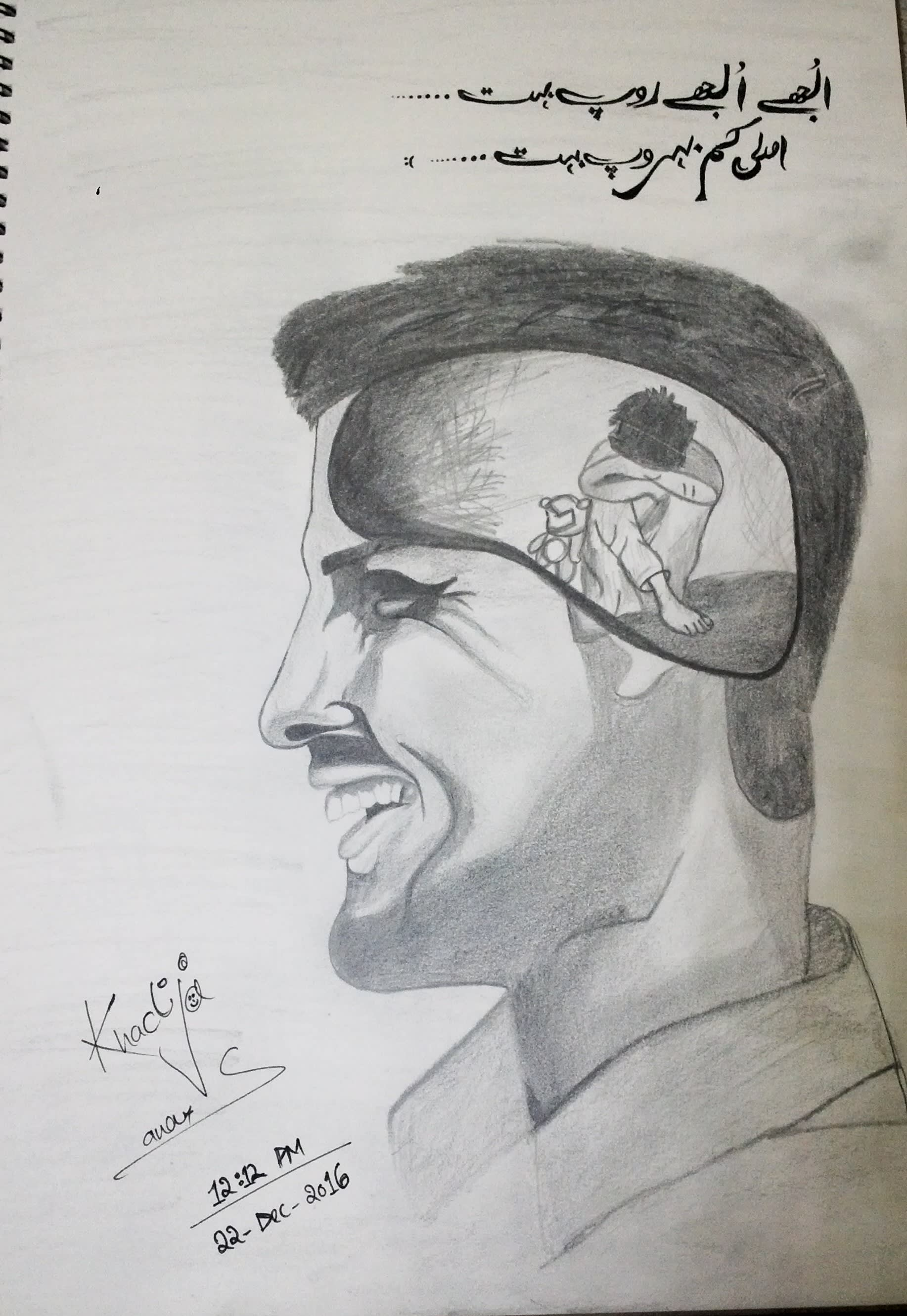 I will make best pencil sketch of your photo or any thing you want