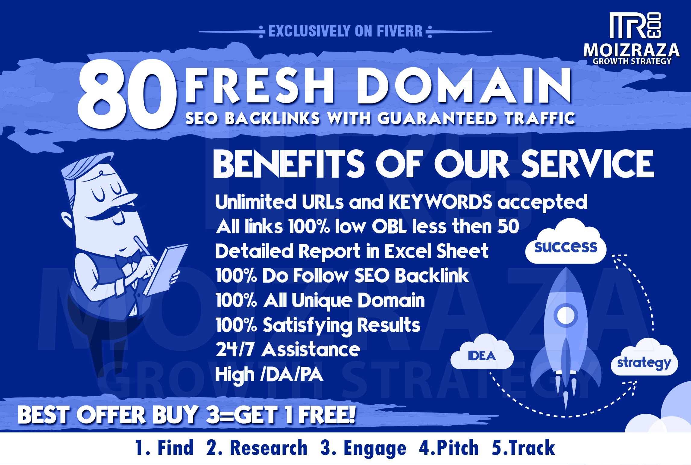 build 80 fresh domain SEO backlinks with guaranteed traffic