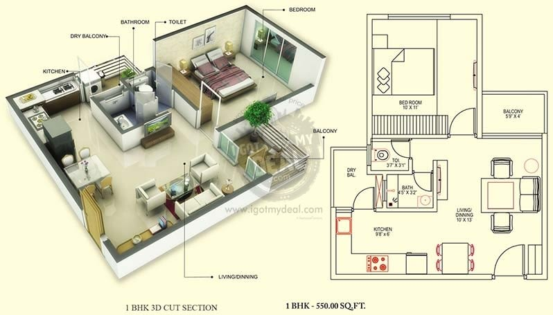 Create Sale Floor Plan Cut View Plan Sale Brochure 2d And 3d By