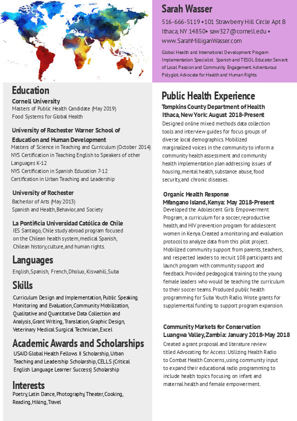 Health Education Curriculum Infographics Translation Editing By