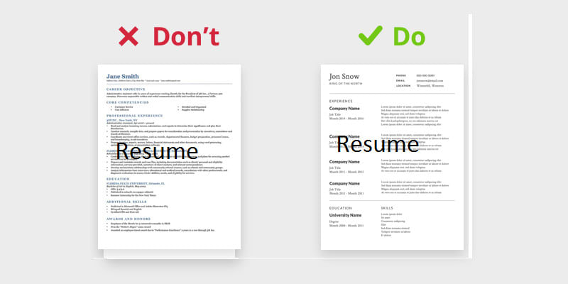 Redesign Your Cv To Make It Stand Out By Agatecoral
