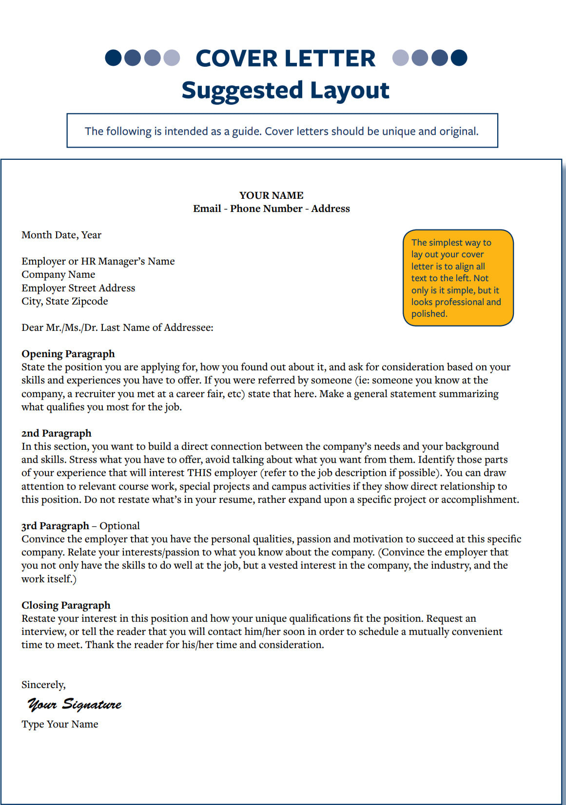 Upgrade Your Resume Cover Letter
