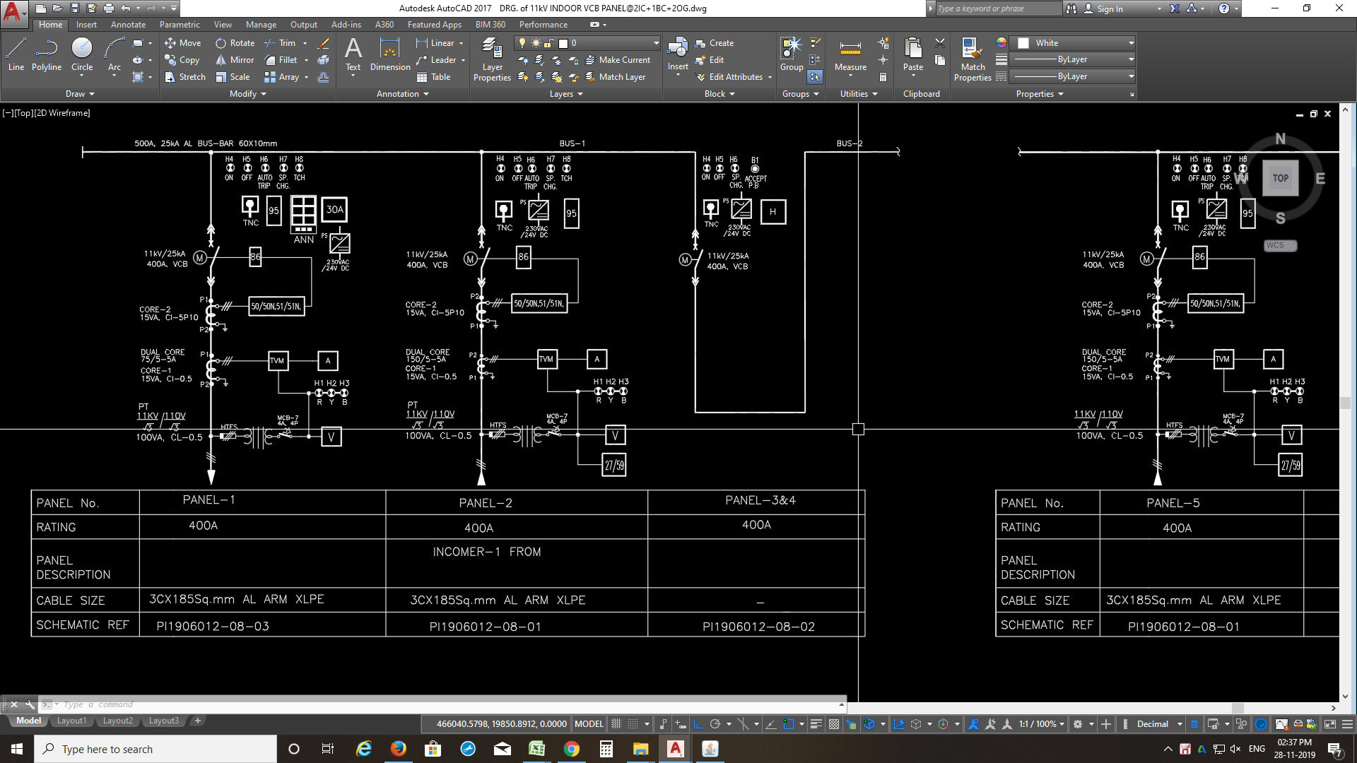 Professional In Electrical Drawings Autocad By Aks987