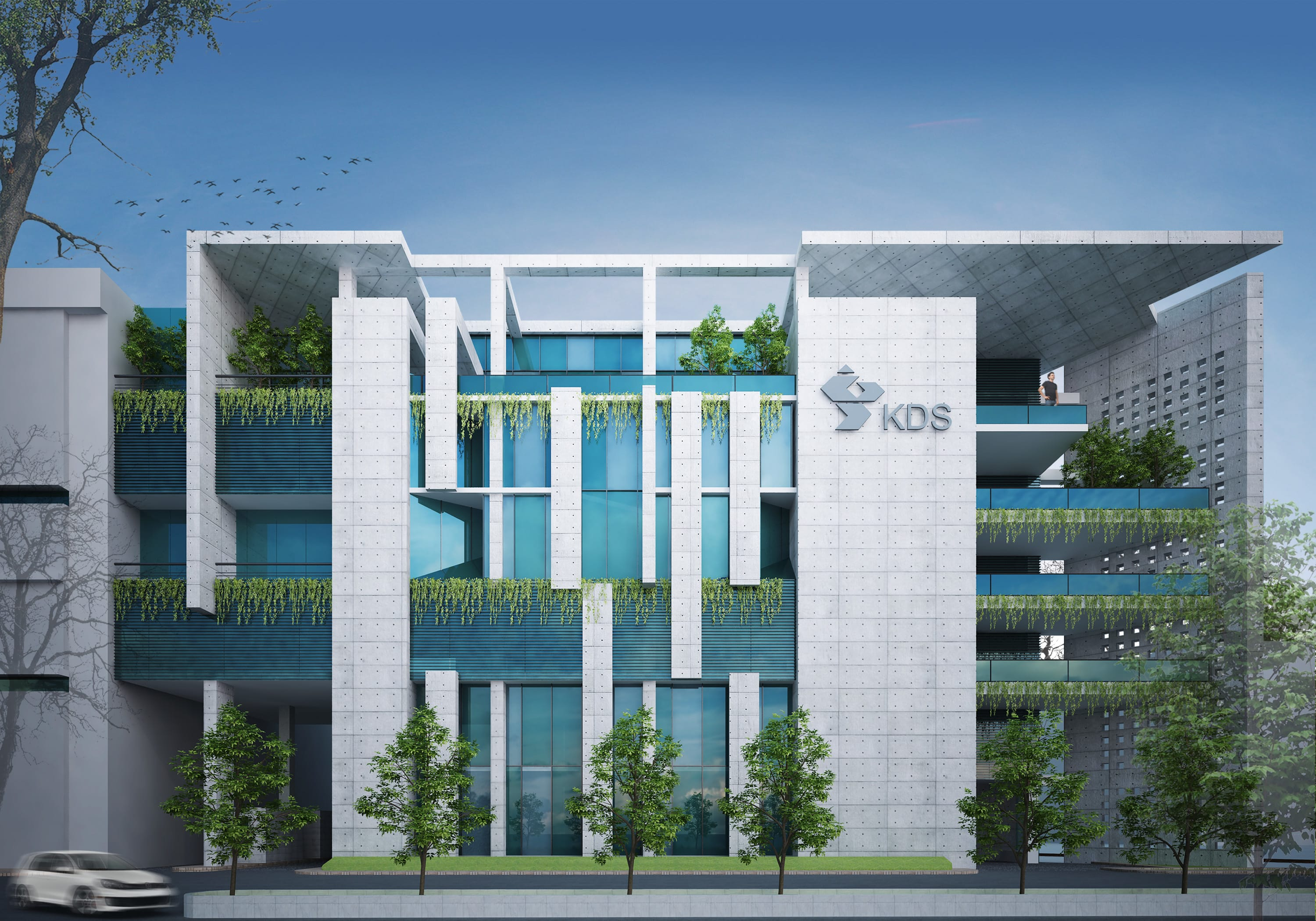 Design Modern Commercial Building By Archmahfuz